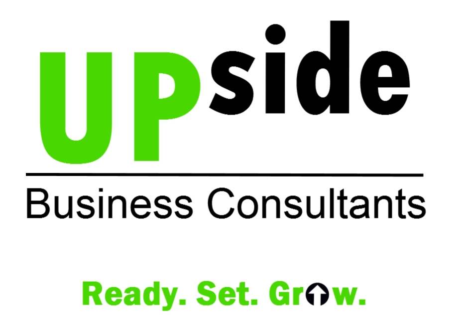 8.10.09 Upside Business Consultants Logo - LLC with Tag - For Tshirt